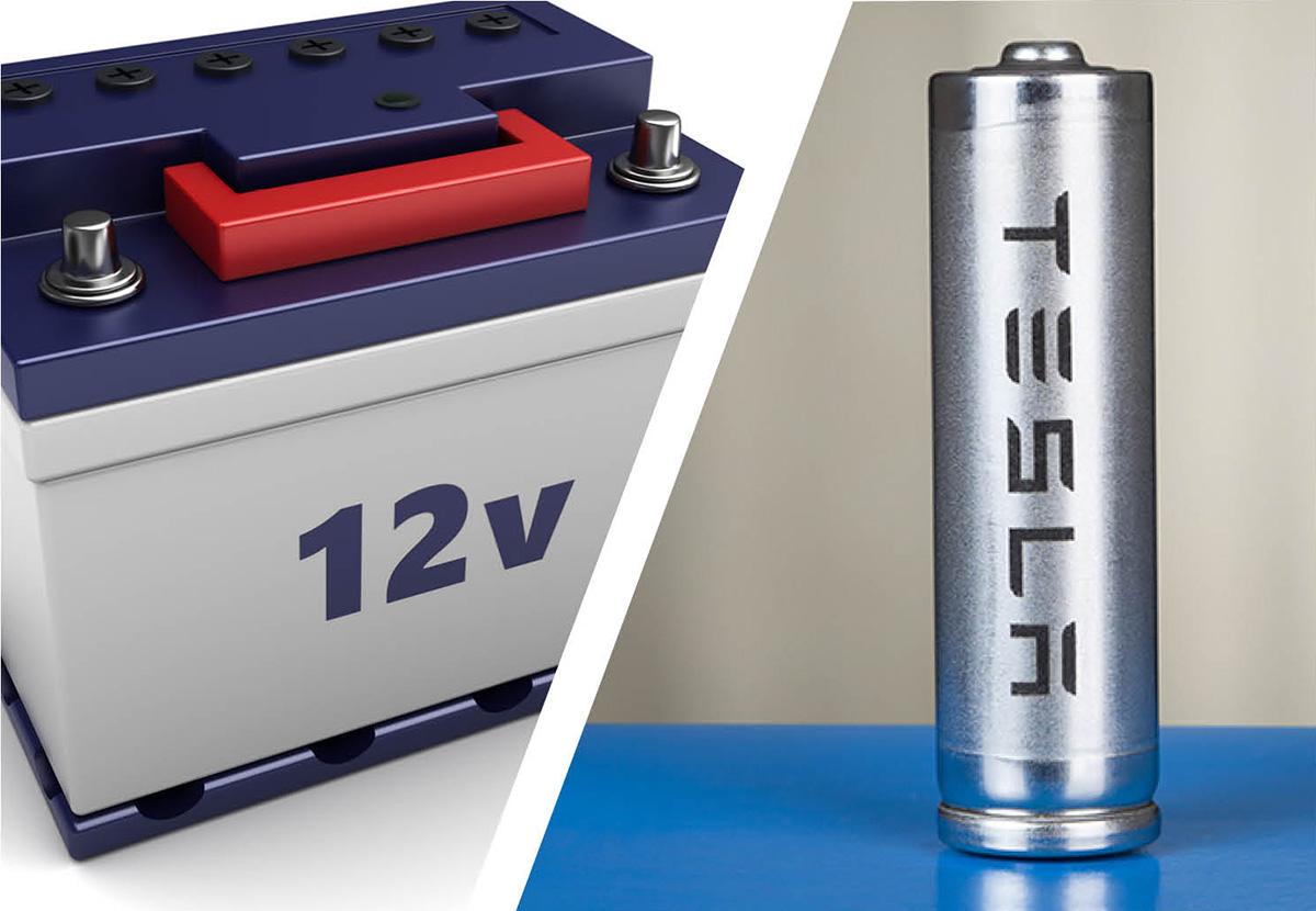 Tesla 12 volt battery