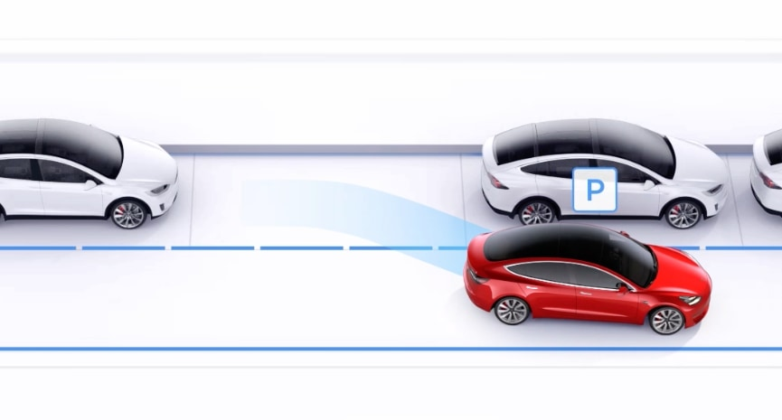 Tesla updates Autopark to be much better