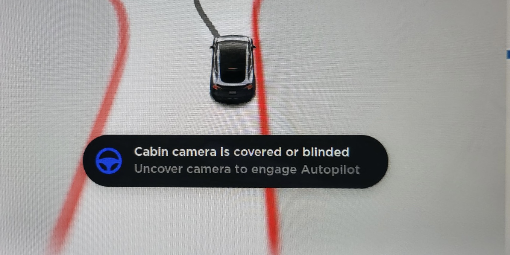Covering the cabin camera now stops Tesla Autopilot