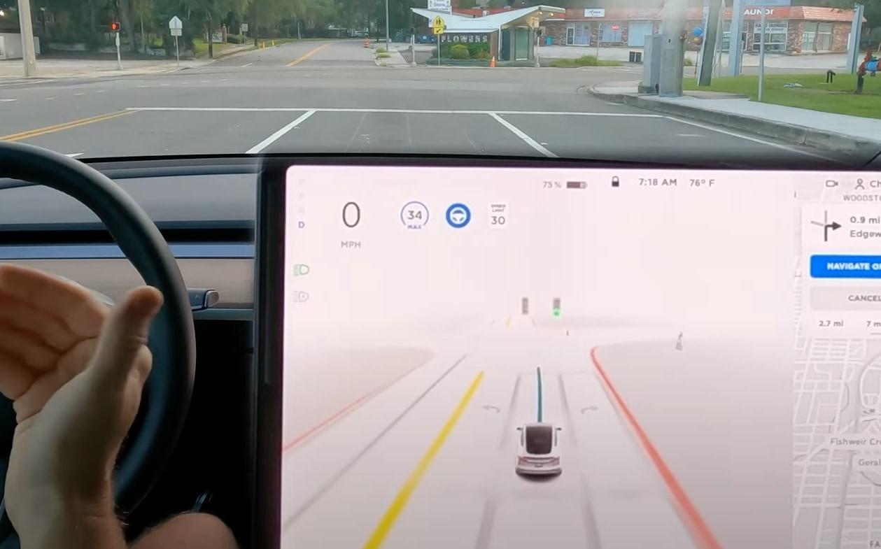 Tesla FSD Beta 9.2