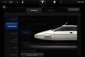 James Bond - Lotus Esprit submarine Easter Egg