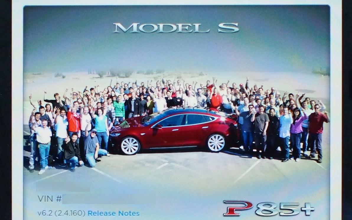 Tesla Model S Team Photo