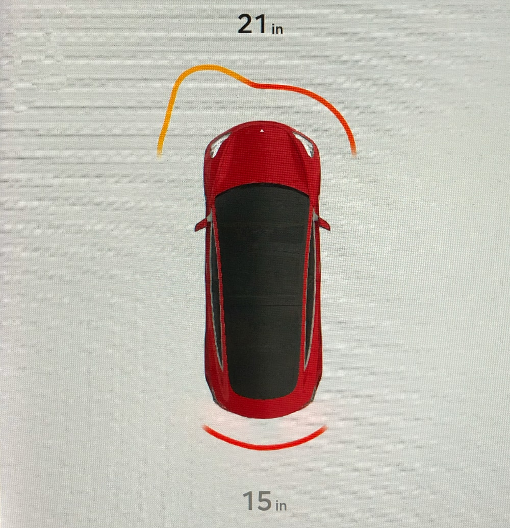 Tesla to improve parking chimes