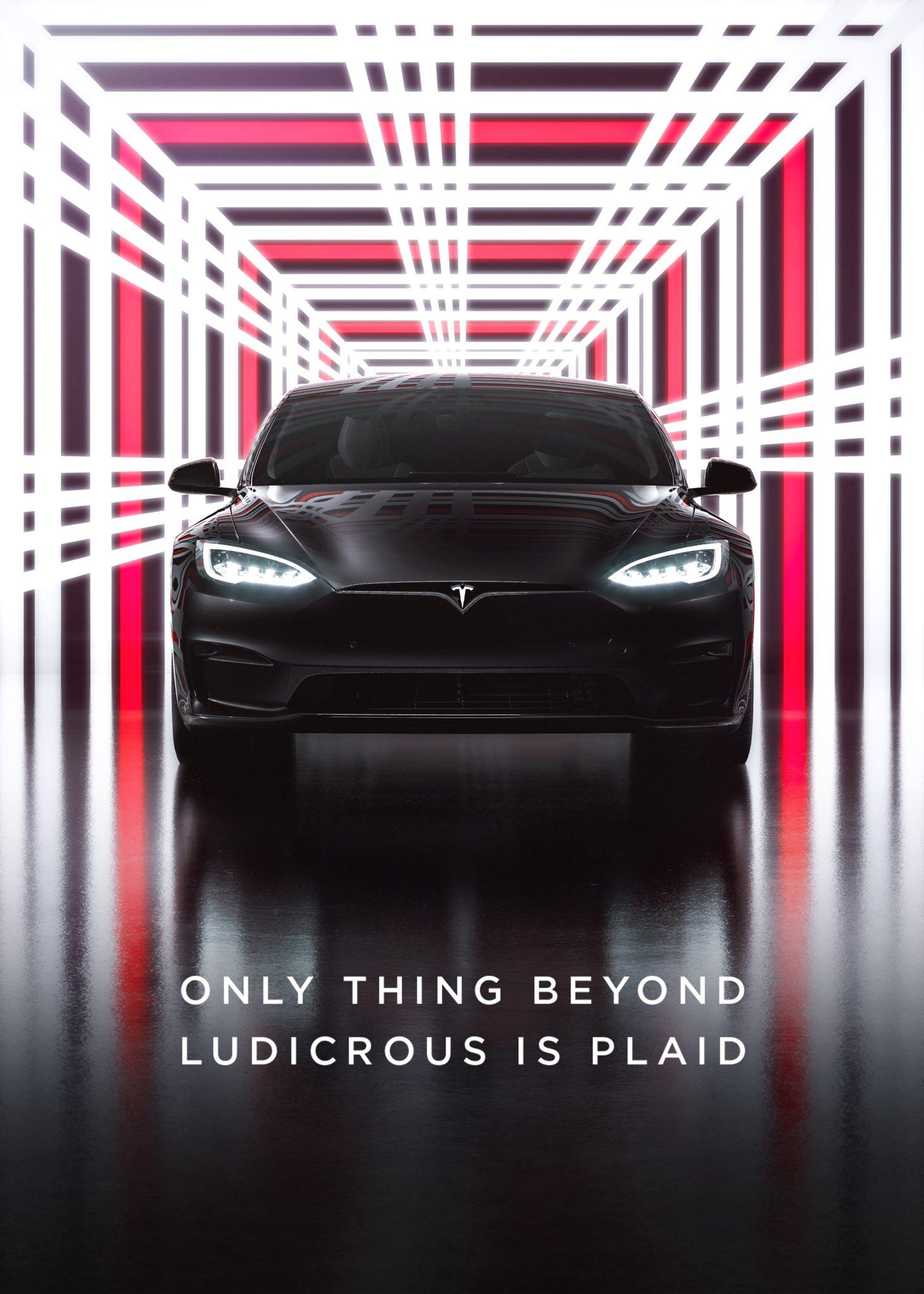 Tesla's Plaid Delivery Event