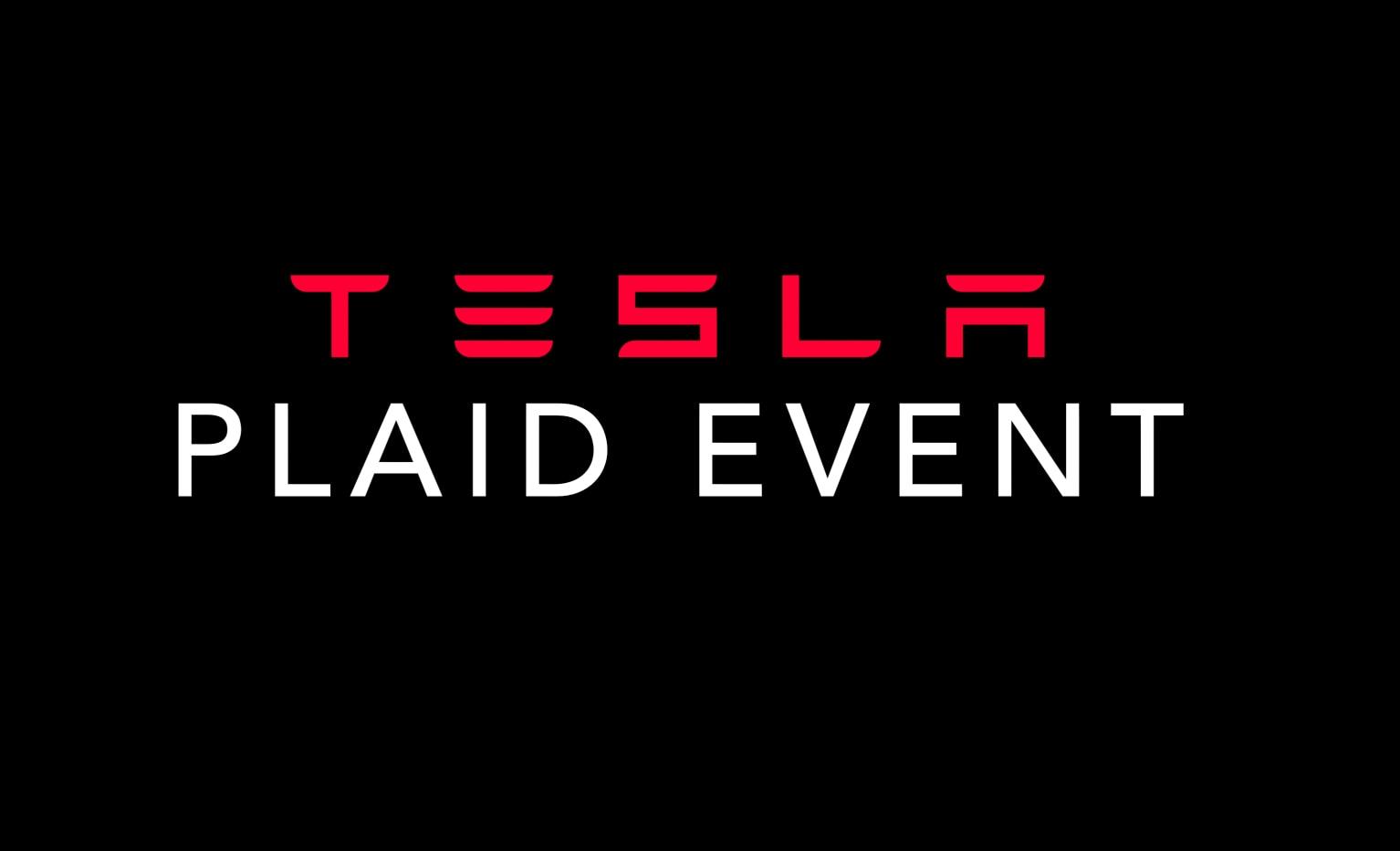 Model S Plaid Event