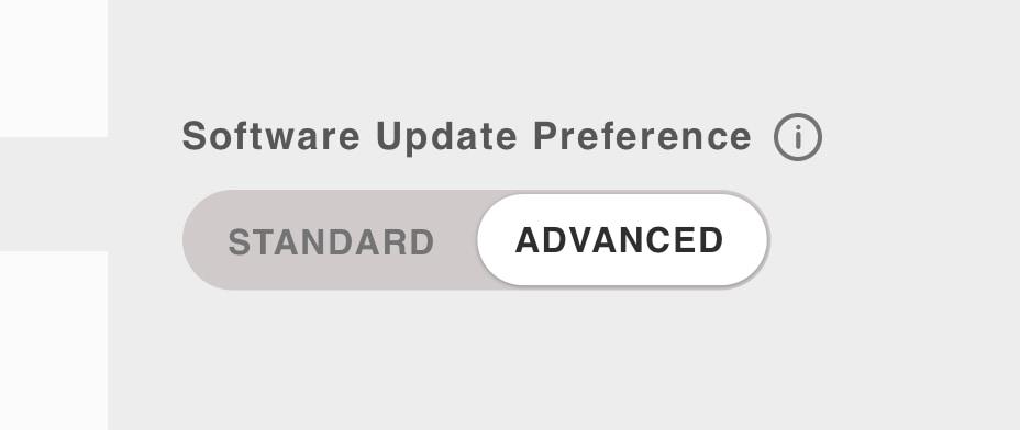 Tesla Software Preference Advanced