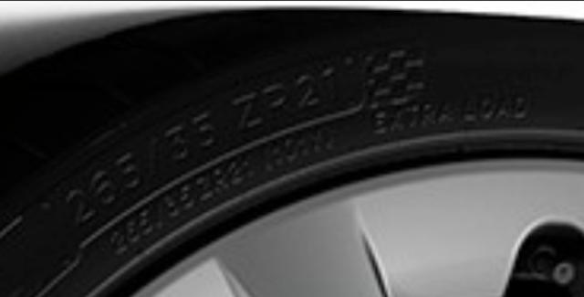 Tesla Model S Plaid Tire