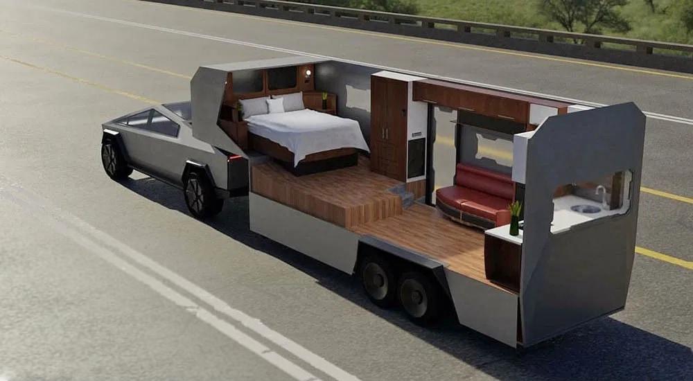 Cybertruck trailer concept